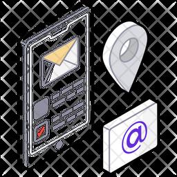 Social Analytics Isometric  Logo Icon