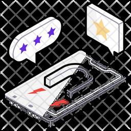 Social Campaign Isometric  Logo Icon