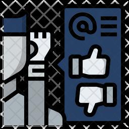 Social Listening Icon