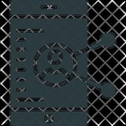 Social Media Glyph Icon