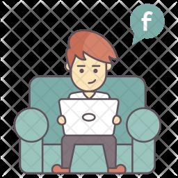 Social Media Activity Icon