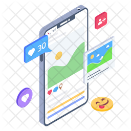 Social Media Comments Icon