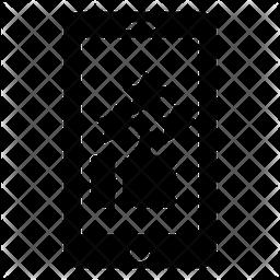 Social Status Glyph Icon
