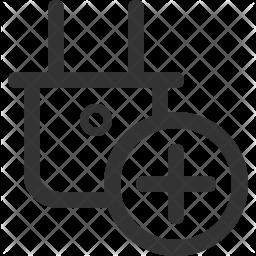 Socket Line Icon