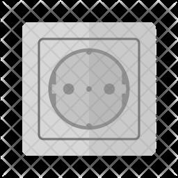 Socket Flat Icon