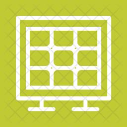 Solar Line Icon