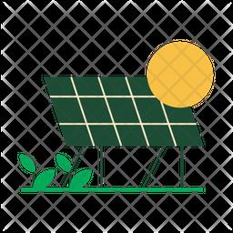 Solar Flat Icon