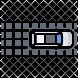 Solar car Icon