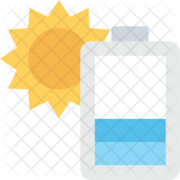 Solar Cell Flat Icon
