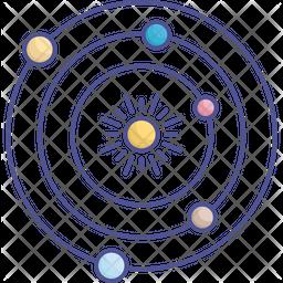 Solar Space Icon