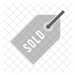 Sold Flat Icon