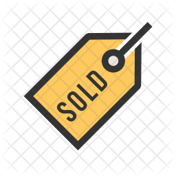 Sold Colored Outline Icon