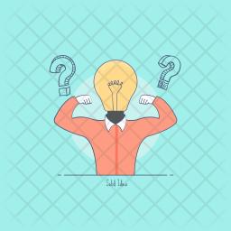 Solid Idea Icon