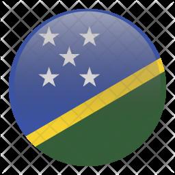 Solomon island Flag Icon