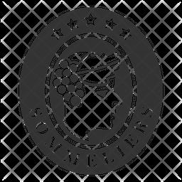 Sommelier Badge Icon