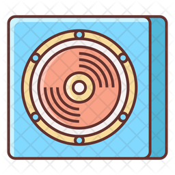Song Cassette Icon