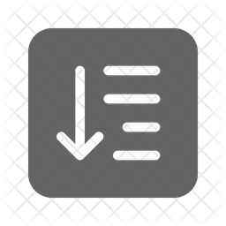 Sort Icon Of Glyph Style Available In Svg Png Eps Ai Icon Fonts
