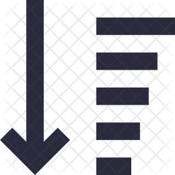 Sorting Line Icon