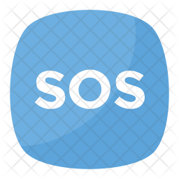 SOS Emoji Icon