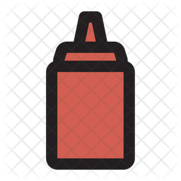 Souce Bottle Icon