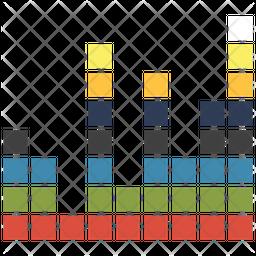 Sound volume bars Icon