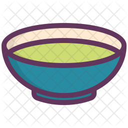 Soup, Bowl, Dinner, Food, Light, Liquid, Plate Icon
