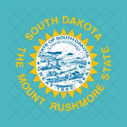 South Flag Icon