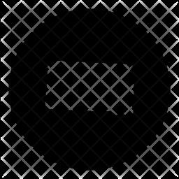 South Glyph Icon