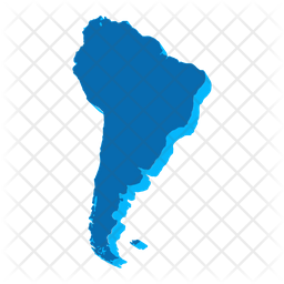 South America Map Icon Of Flat Style Available In Svg Png Eps Ai Icon Fonts