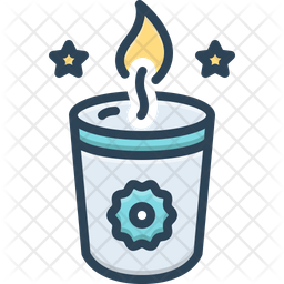 Soy Candle Icon