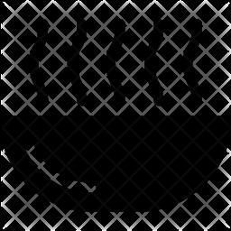 Spa Glyph Icon