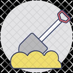 Spade Tool Icon