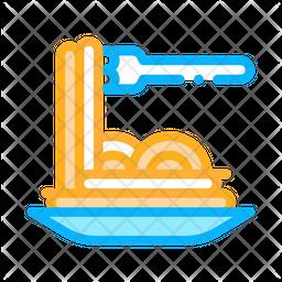 Spaghetti Pasta Icon
