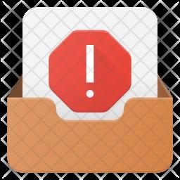 Spam Inbox Icon
