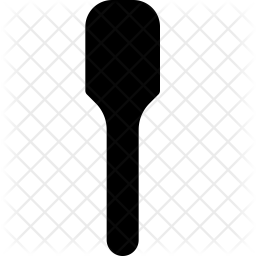 Spatula Glyph Icon