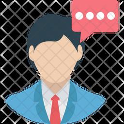 Speech Flat Icon