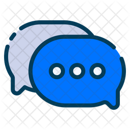 Speech bubble conversation Icon