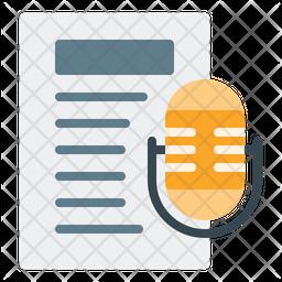 Speech Text Icon
