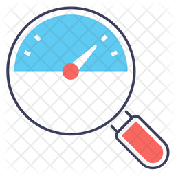 Speed Analysis Colored Outline Icon