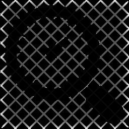 Speed Analysis Glyph Icon