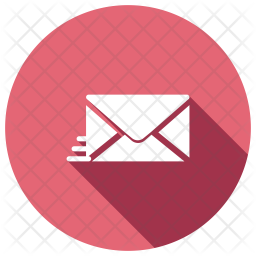 Speed Email Glyph Icon