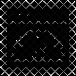 Speed Test Glyph Icon
