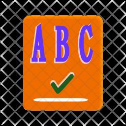 Spellchecker Icon