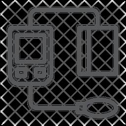 Sphygmomanometer Icon