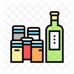 Spices Container Icon