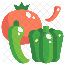Spicy vegetables Icon