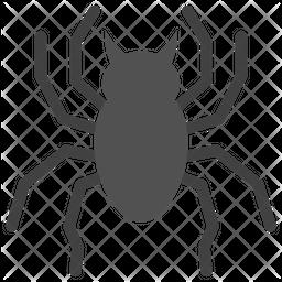 Spider Emoji Icon