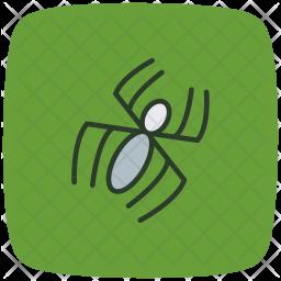 Spider, Spiderweb, Virus, Infection Icon