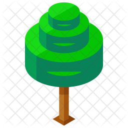 Spiral tree Icon