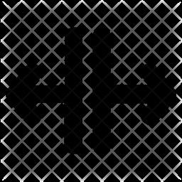 Split lines Icon